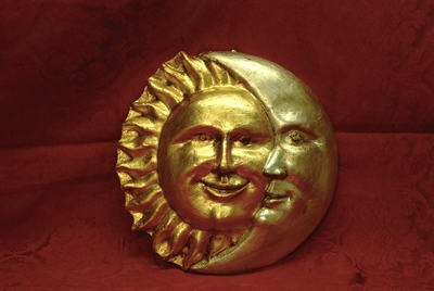 MOON AND SUN GOLD LEAF